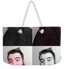 Weekender Tote Bag featuring the photograph Soulmate In Colour by Shawn Dall