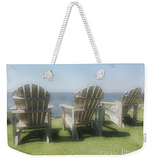 Sound Chairs Weekender Tote Bag by Linda Mesibov