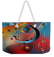 Sound Of Bass Guitar Weekender Tote Bag by Leo Symon