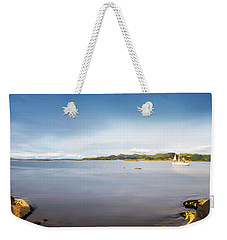 Sound Of Jura Scotland Weekender Tote Bag by Lynn Bolt
