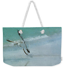 Weekender Tote Bag featuring the photograph Sound Of Seagulls by Claire Bull