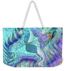 Sound Waves 2 Weekender Tote Bag