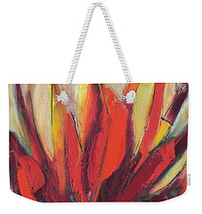 Sounding Weekender Tote Bag by Lynne Taetzsch