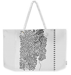 Soundless Whisper Weekender Tote Bag by Fei A
