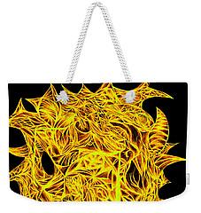 Weekender Tote Bag featuring the drawing Sour Desire by Jamie Lynn