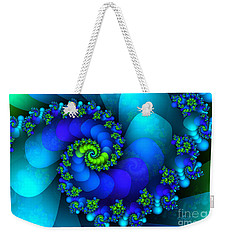 Source Of Life Weekender Tote Bag by Jutta Maria Pusl