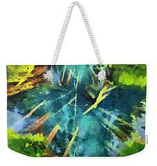 Source Of Water Weekender Tote Bag