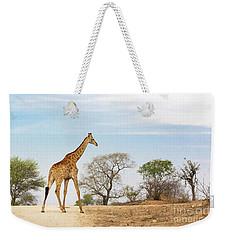 South African Giraffe Weekender Tote Bag