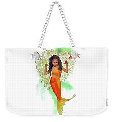 South African Mermaid Weekender Tote Bag by Francesa Miller
