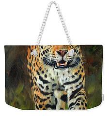 South American Jaguar Weekender Tote Bag