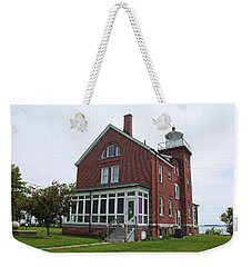 South Bass Island Lighthouse- Horizontal Weekender Tote Bag