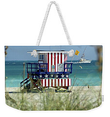South Beach Weekender Tote Bag