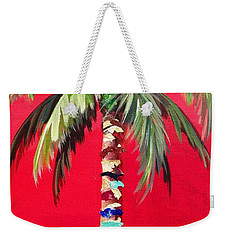 South Beach Palm II Weekender Tote Bag
