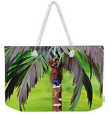 South Beach Palm IIi Weekender Tote Bag