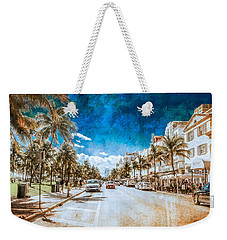 Weekender Tote Bag featuring the photograph South Beach Road by Melinda Ledsome
