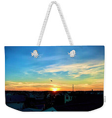 South Bethany Sunset Weekender Tote Bag