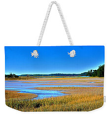 Weekender Tote Bag featuring the photograph South Carolina Lowcountry H D R by Lisa Wooten
