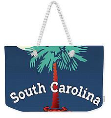 South Carolina Palmetto Crab Weekender Tote Bag