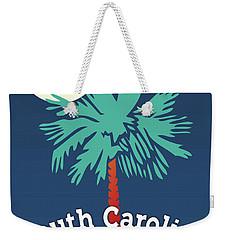 South Carolina Palmetto Weekender Tote Bag