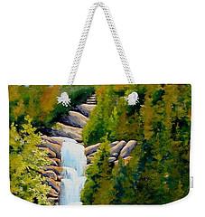 South Carolina Waterfall Weekender Tote Bag