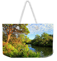 South Creek Near Nokomis, Southwest Florida, United States Weekender Tote Bag