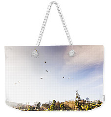 Weekender Tote Bag featuring the photograph South-east Tasmania River Landscape by Jorgo Photography - Wall Art Gallery