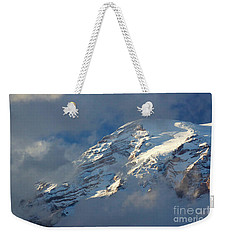 South Face - Mount Rainier Weekender Tote Bag by Sean Griffin