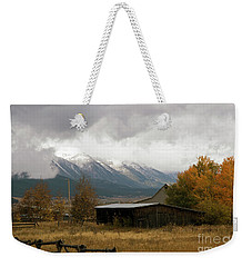 South Idaho Rt 20 Weekender Tote Bag by Cindy Murphy - NightVisions