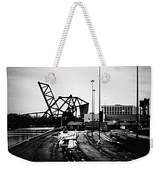 South Loop Railroad Bridge Weekender Tote Bag
