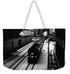 South Loop Railroad Weekender Tote Bag