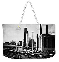 South Loop Railroad Yard Weekender Tote Bag