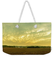 Thunder Storm Over A Pennsylvania Farm Weekender Tote Bag