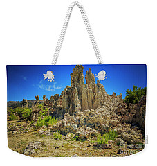 Weekender Tote Bag featuring the photograph South Tufa 1 by Craig J Satterlee