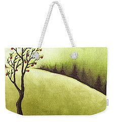 Weekender Tote Bag featuring the painting South Wind by Danielle R T Haney
