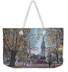 Southampton Cenotaph Autumn Weekender Tote Bag