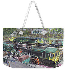 Southampton Freightliner Train Maintenance Weekender Tote Bag