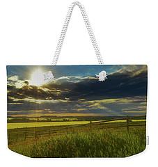Southern Alberta Crop Land Weekender Tote Bag