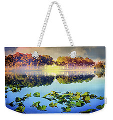 Weekender Tote Bag featuring the photograph Southern Beauty by Debra and Dave Vanderlaan