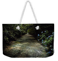 Weekender Tote Bag featuring the photograph Southern Blue by Jessica Brawley