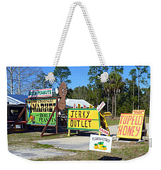 Southern Delights Weekender Tote Bag by Carla Parris