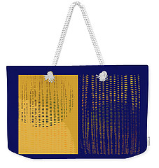 Weekender Tote Bag featuring the photograph Southern Exposure by David Pantuso