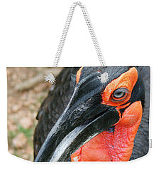 Southern Ground Hornbill Weekender Tote Bag