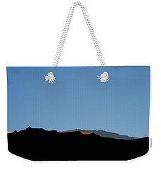 Southern Jacintos View Weekender Tote Bag by Stan  Magnan