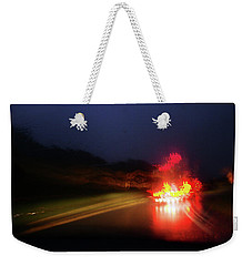 Weekender Tote Bag featuring the photograph Southern Lights by David Pantuso