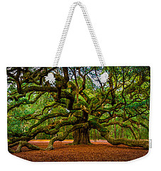 Angel Oak In Charleston Weekender Tote Bag