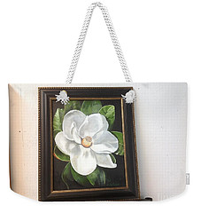 Southern Magnoila Weekender Tote Bag