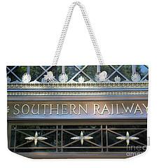 Southern Railway Building Weekender Tote Bag by John S