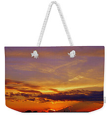 Southern Sunset Weekender Tote Bag