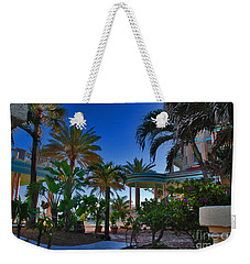 Southernmost Lush Garden In Key West Weekender Tote Bag