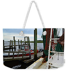 Southport Boats Weekender Tote Bag